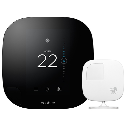 ecobee3 HomeKit-Enabled Wi-Fi Smart Thermostat (EB-STATe3c-02)