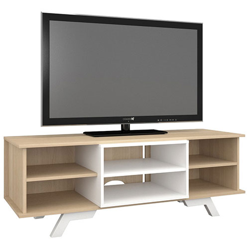 "Nexera Stiletto TV Stand for TVs Up To 58"" - Natural Maple"