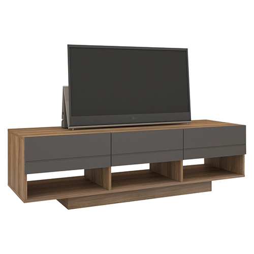 "Nexera Radar TV Stand for TVs Up To 64"" - Walnut"