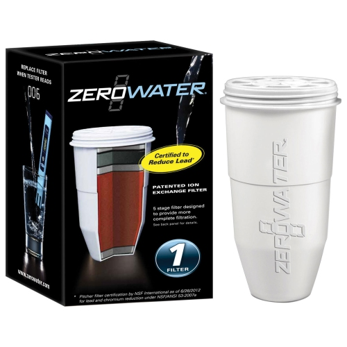 ZeroWater Portable Replacement Filter (ZR-001C) - White