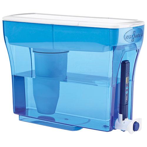 ZeroWater 23-Cup Water Dispenser (ZD-023C) - Blue