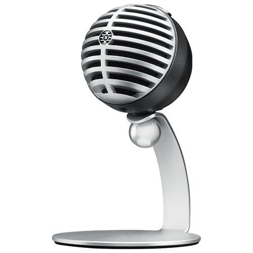 Microphone à condensateur électret cardioïde numérique de Shure (MV5-LTG)