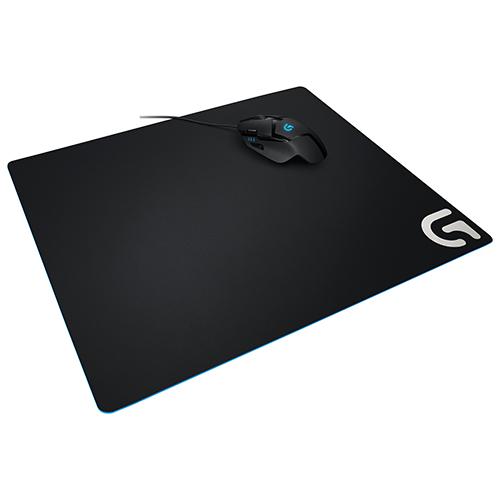 Tapis de souris de jeu en tissu G640 de Logitech - Noir