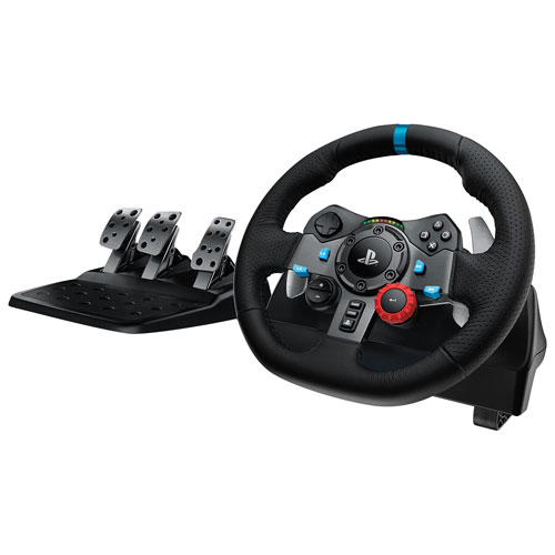 logitech g29 driving force racing wheel for playstation pc. Black Bedroom Furniture Sets. Home Design Ideas