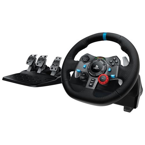 Volant de course G29 Driving Force de Logitech pour PlayStation/PC - Foncé
