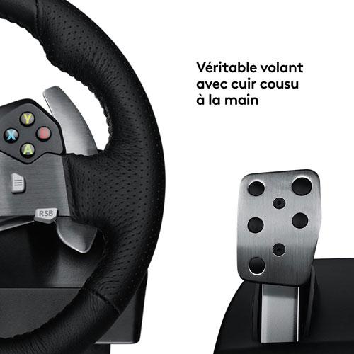 Logitech G920 Driving Force Racing Wheel for Xbox/PC - Dark