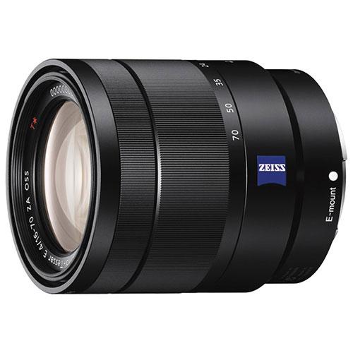Objectif OSS 16-70 mm f/4 à monture E de Sony