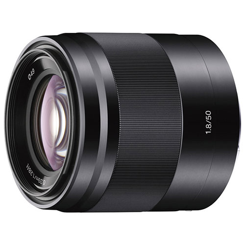 Sony E Mount 50mm F/1.8 Oss Lens by Sony