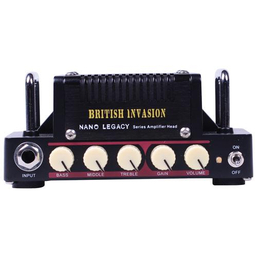 Tête de mini-amplificateur de guitare 5 W British Invasion de Hotone (NLA-1) - Anglais