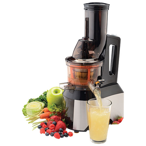 Slow Press Juicer Benefits : Salton Slow Juicer : Juicers - Best Buy Canada
