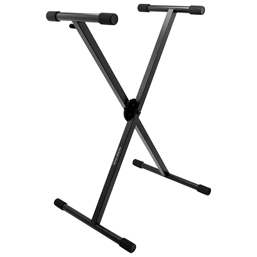 On-Stage Pro Heavy-Duty Single-X ERGO-LOK Keyboard Stand (KS7290)