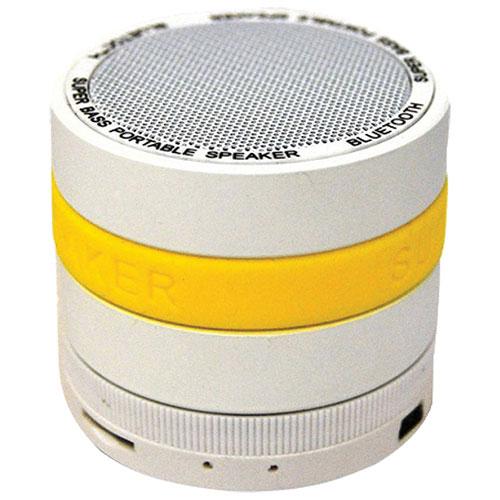 Haut-parleur sans fil Bluetooth de Mmnox (S304Y) - Jaune