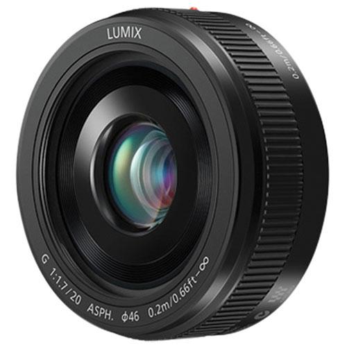 Objectif LUMIX G f/1,7 de 20 mm de Panasonic