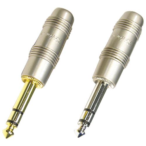 Connecteur mono mâle de 1/4 po de Kirlin Cable (CH2407PR) - Perle