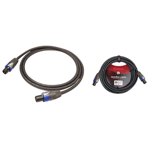 Câble de haut-parleur SBC de 7,62 m (25 pi) de Kirlin Cable (SBC147N25) - Noir