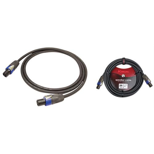 Kirlin Cable SBC 1.83m (6 ft.) Speaker Cable (SBC147N6) - Black