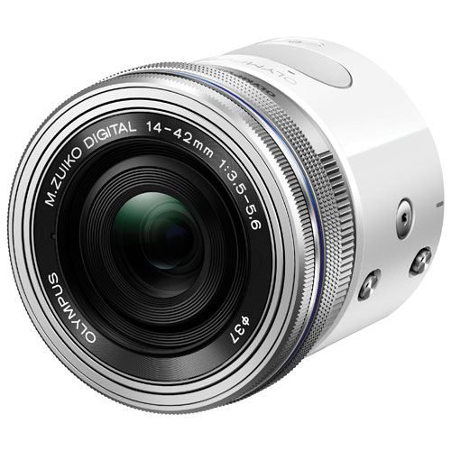 Olympus AIR A01 17.2MP Camera With 14-42mm EZ Lens - White