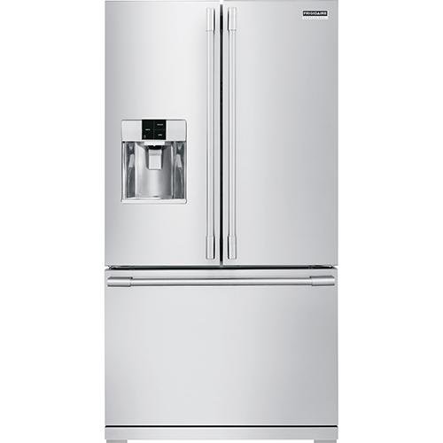 Réfrigérateur 2 portes Pro de 36 po et 27,7 pi³ de Frigidaire - Acier inoxydable