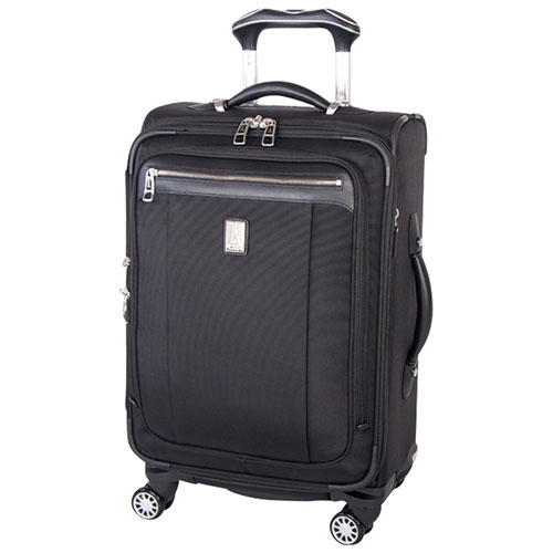 Rockstar Energy Rolling Suitcase Black With Logos Travel Bag