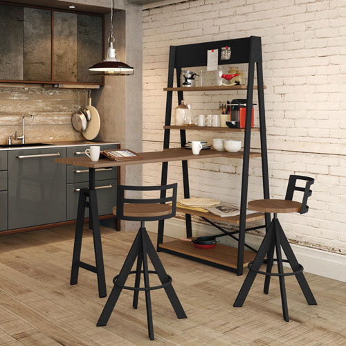 tabouret de bar traditionnel hauteur de comptoir. Black Bedroom Furniture Sets. Home Design Ideas
