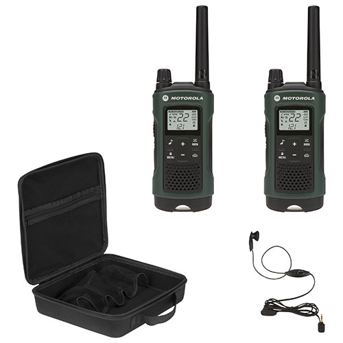 Motorola Talkabout T465 56 km 2-Way Radio - 2 Pack