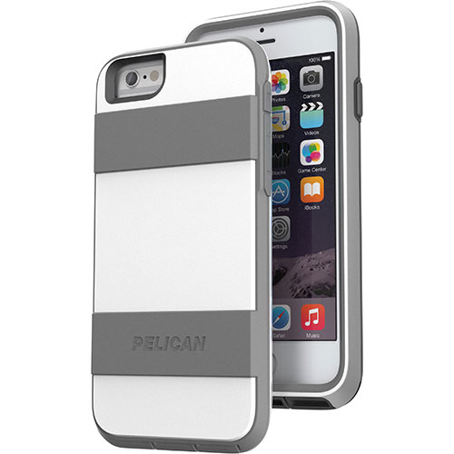 Pelican ProGear Voyager iPhone 6 Fitted Hard Shell - White/ Grey