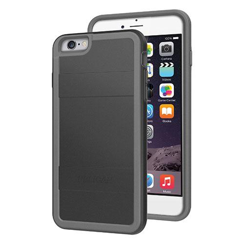 Étui rigide ajusté de Pelican pour iPhone 6 Plus - Noir - Gris