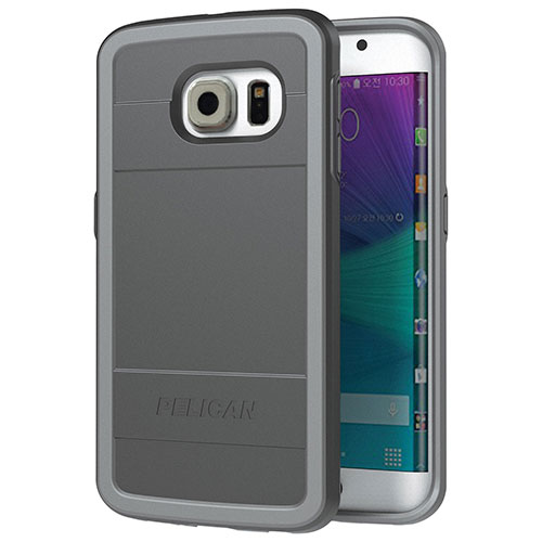 Pelican Galaxy S6 Edge Fitted Hard Shell - Black