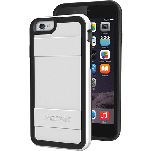 Pelican iPhone 6 Fitted Hard Shell - White/ Black