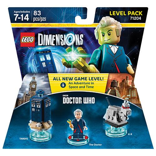 Ensemble niveau LEGO Dimensions avec Dr Who