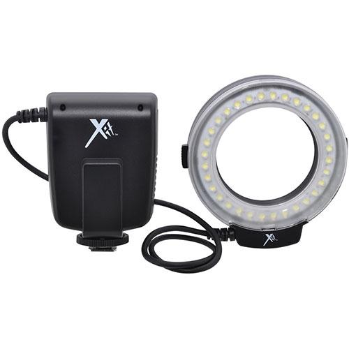 Flash macro en anneau DEL universel 2-en-1 série Pro de Xit (XTLMRUN)