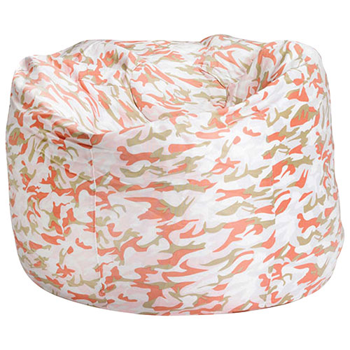 Comfy Kids - Teen Bean Bag - Pink Camo
