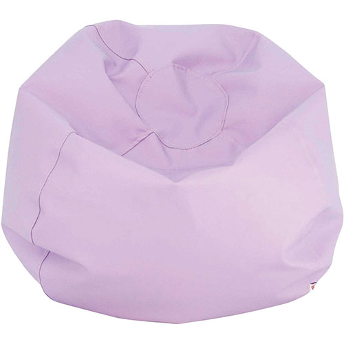 Comfy Kids   Vinyl Kids Bean Bag   Lavender   Online Only