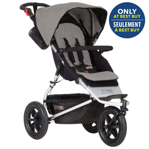 Mountain Buggy Urban Jungle Stroller - Silver - Only at Best Buy