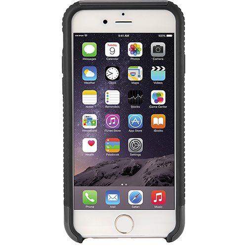 Modal iPhone 6/6s Fitted Soft Shell Case - Black/ Grey