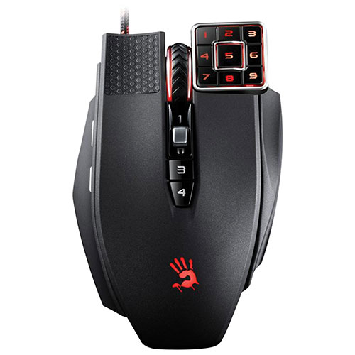 Bloody Commander Wired Laser Gaming Mouse (ML-16A) - Black