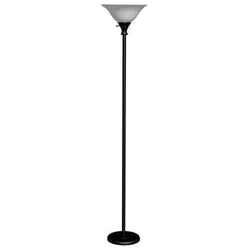 Stepanov Floor Lamp - White/Matte Black