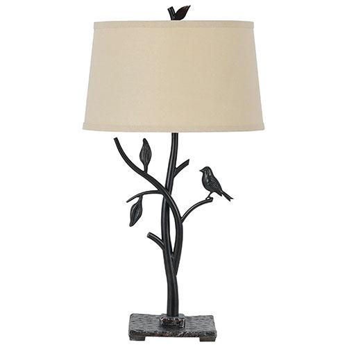 Sigfreed Table Lamp - Cream/Oak
