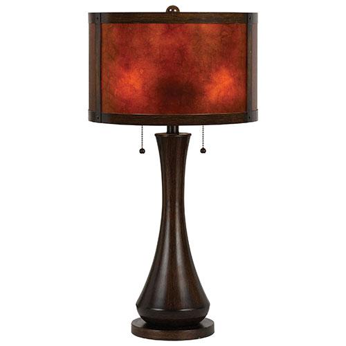 Lampe de table Crete - Viejo mica - Bronze foncé