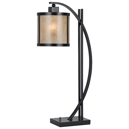 Lampe de table Fraya - Crème - Bronze huilé