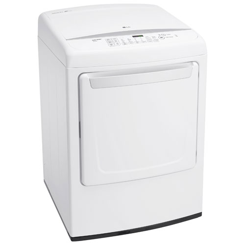 lg 73 cu ft electric dryer dle1501w white