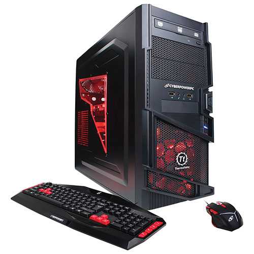 CYBERPOWERPC Gamer Ultra GUA520 PC (AMD FX-4300/ 1TB HDD/ 8GB RAM/ Windows 10) - English