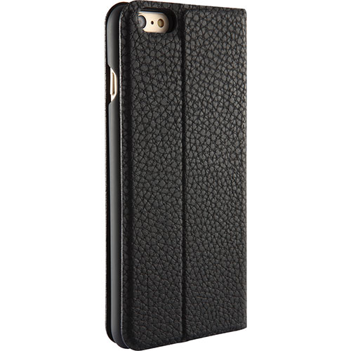 Platinum Series iPhone 6/6s Plus Flip Fitted Hard Shell Case - Black