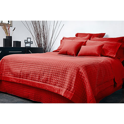 Ensemble housse de couette en microfibre collection grid - Housse de couette grand lit ...