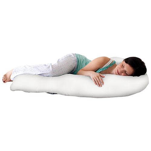 Jolly Jumper Mama Sleep EZ Body Pillow - White