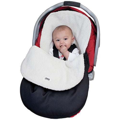 Jolly Jumper Water Resistant Cuddle Bag - Black : Car Seat ...
