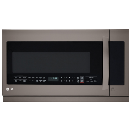 Lg Over The Range Microwave 2 2 Cu Ft Black