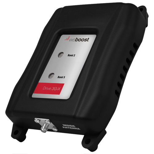 weBoost Drive 3G-X Portable Cell Phone Signal Booster Kit (470111F) - Black