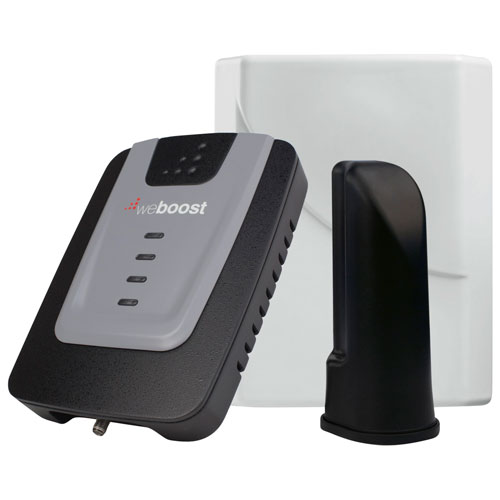 weBoost Home 4G Cell Phone Signal Booster Kit (470101F) - Black
