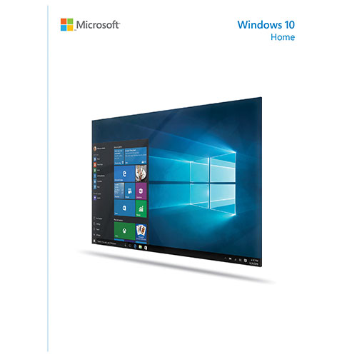 Microsoft Windows 10 Home - French